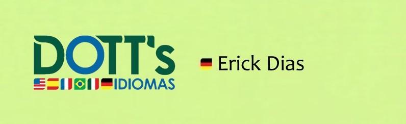 Alemão VIP - Erick Dias - 3.ª 15h-16h