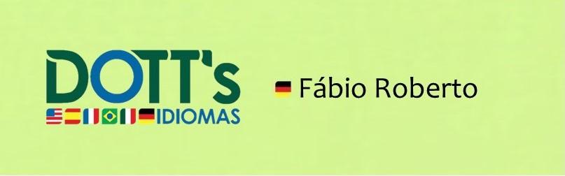 Alemão Vip - Fábio Roberto - 2.ª 8h-9h